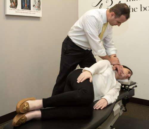 Upper Cervical Chiropractic in Monmouth NUCCA adjustment